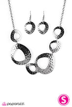 Load image into Gallery viewer, Paparazzi Jewelry Necklace  The Alpha - Black