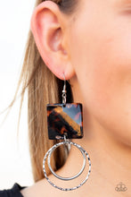 Load image into Gallery viewer, Paparazzi Jewelry Earrings Maven Maker - Black