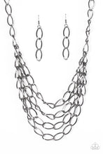 Load image into Gallery viewer, Paparazzi Jewelry Necklace Chain Reaction - Black