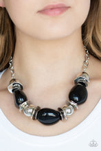 Load image into Gallery viewer, Paparazzi Jewelry Necklace Vivid Vibes - Black