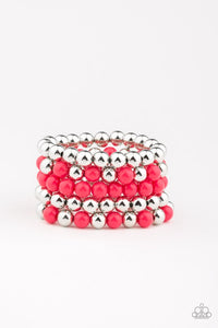 Paparazzi Jewelry Bracelet Pop-YOU-lar Culture - Pink
