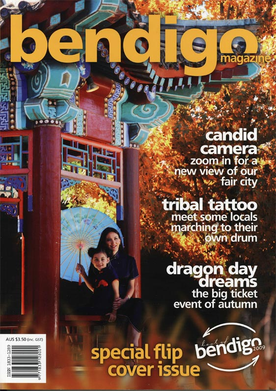 "alt=""Bendigo inside cover magazine issue 18 2010"