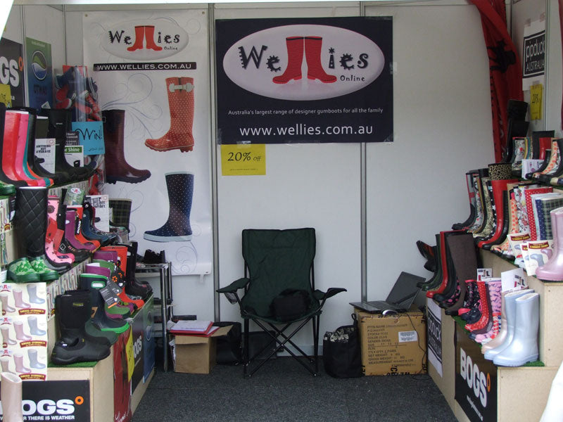 Wellies Online at Better Homes and Gardens in Melbourne 2013
