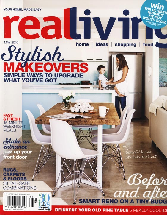 Real Living May 2010 Features Wellies Online