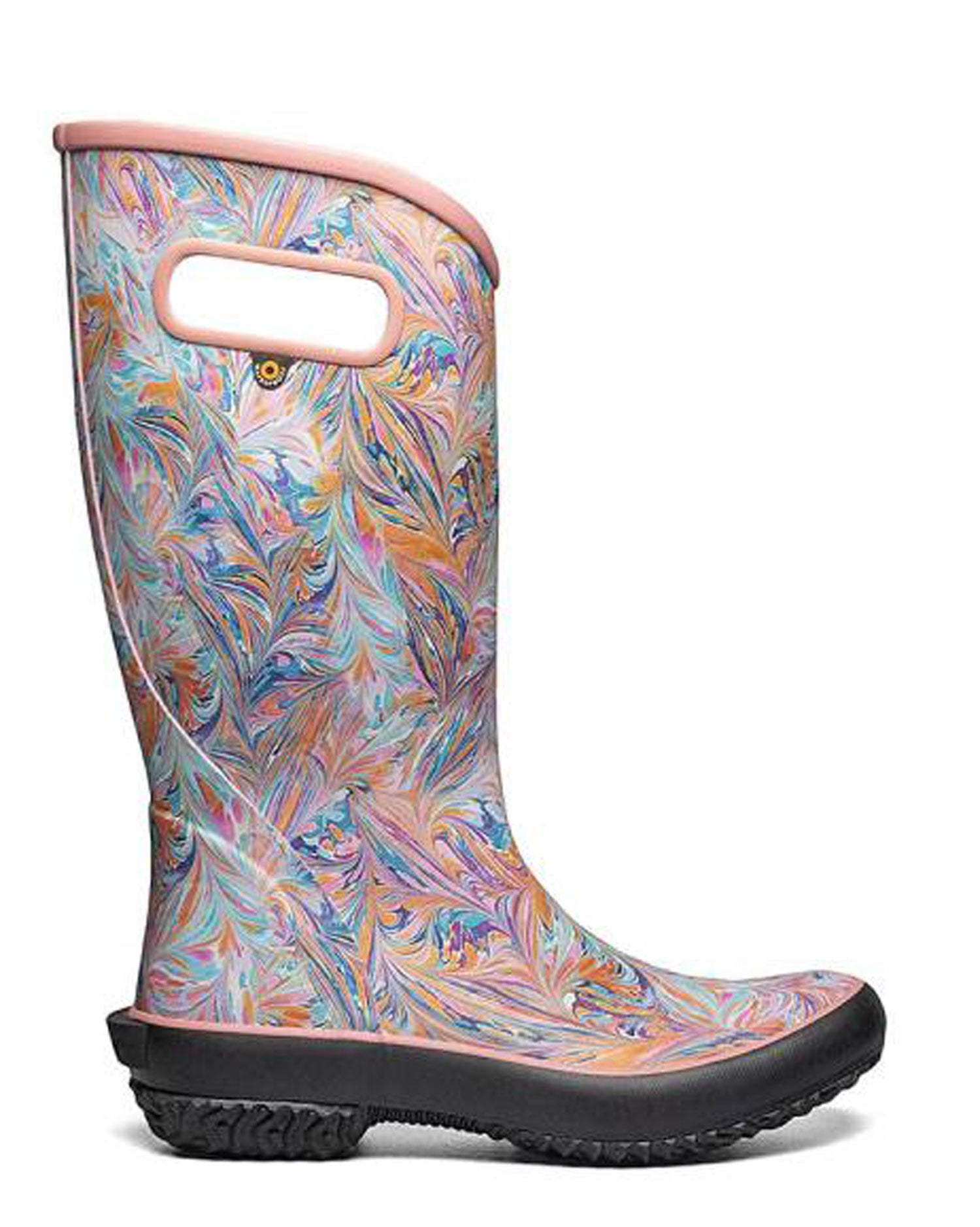 Rainboot Marble Coral Gumboots