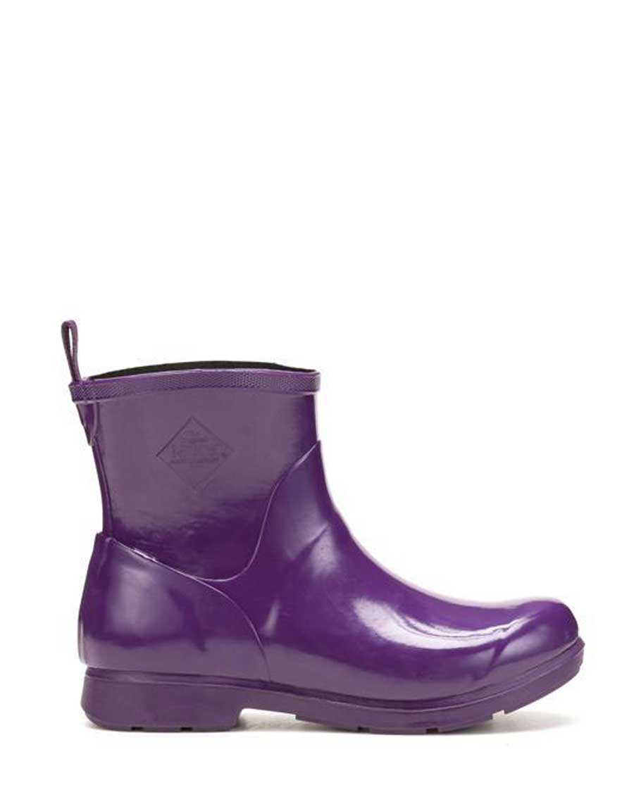 Bergen Purple Ankle Gumboots