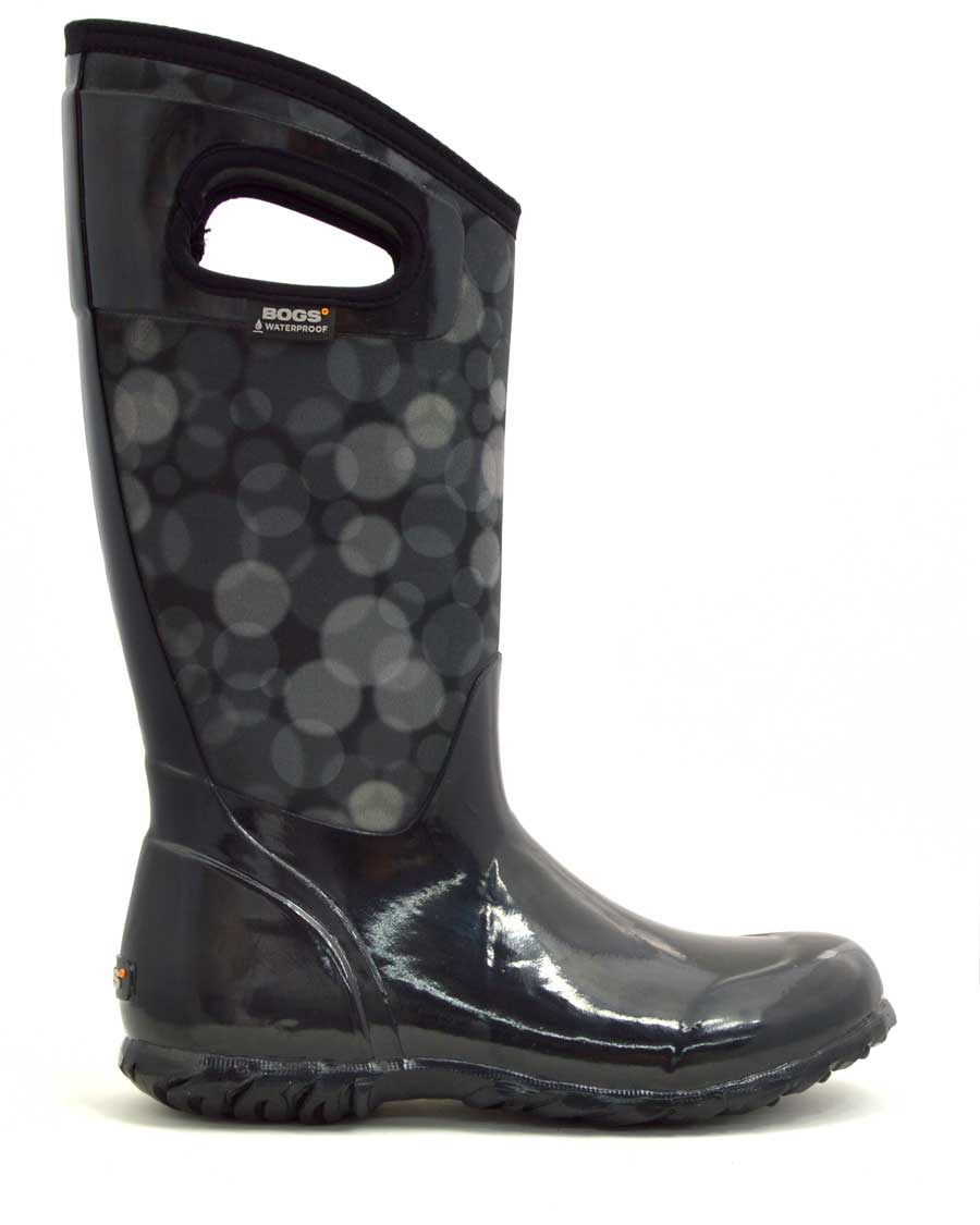 North Hampton Rain Black Wellies