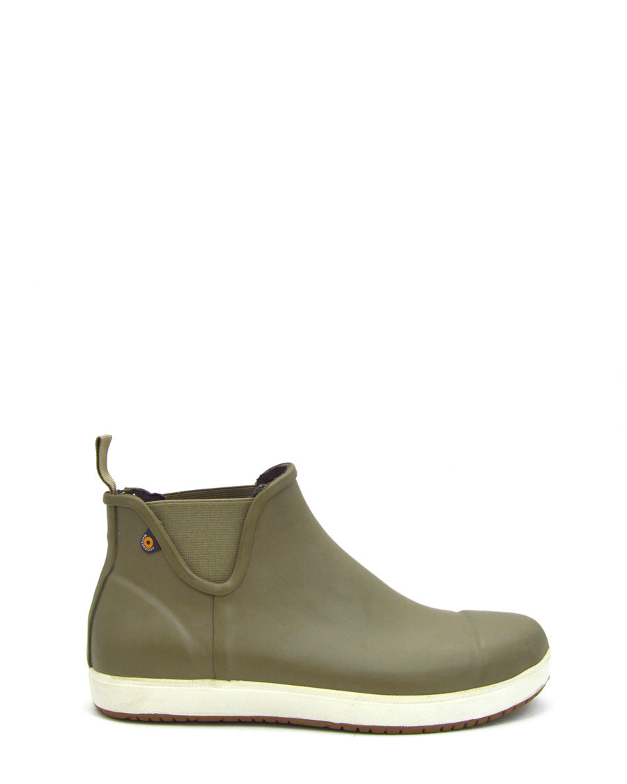 Overcast Chelsea Mens Olive Boots