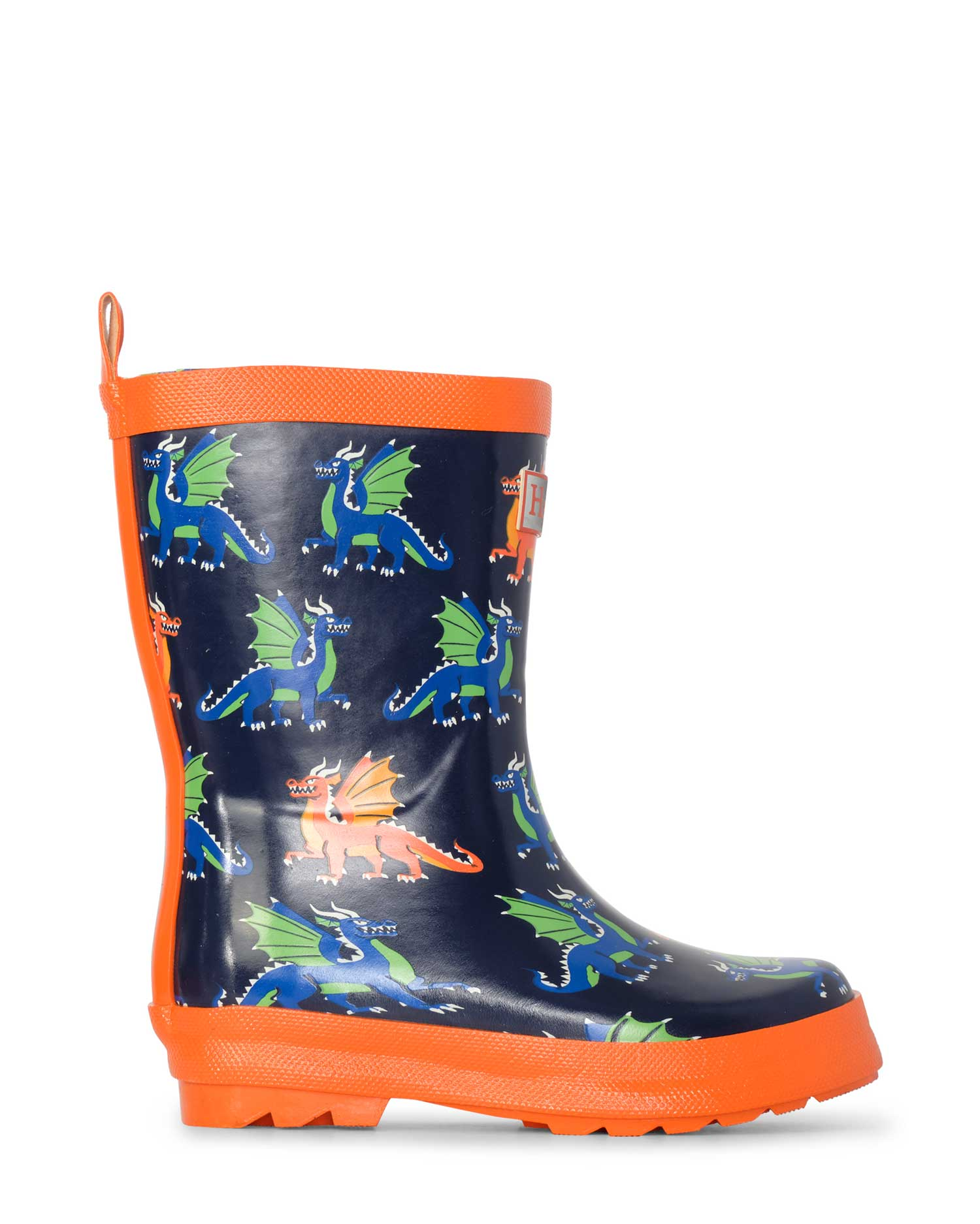 Dragons Shiny Gumboots