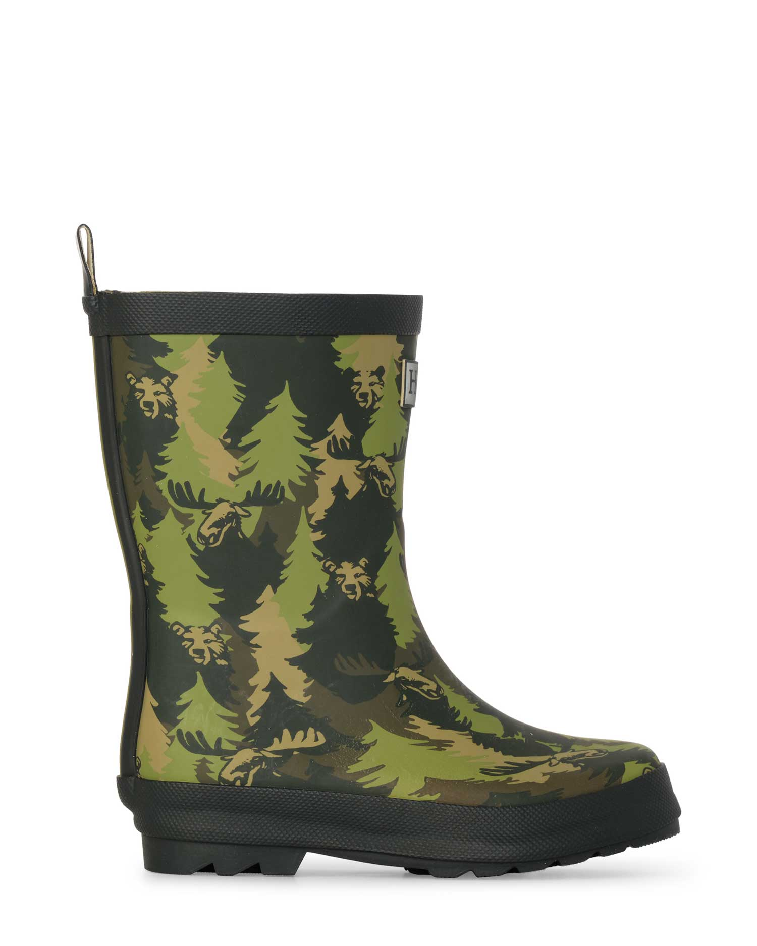 Forest Camo Matte Gumboots