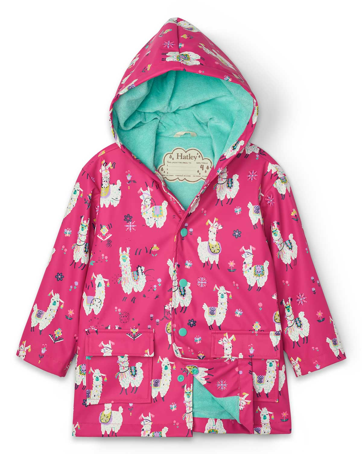 Pretty Alpacas Raincoat