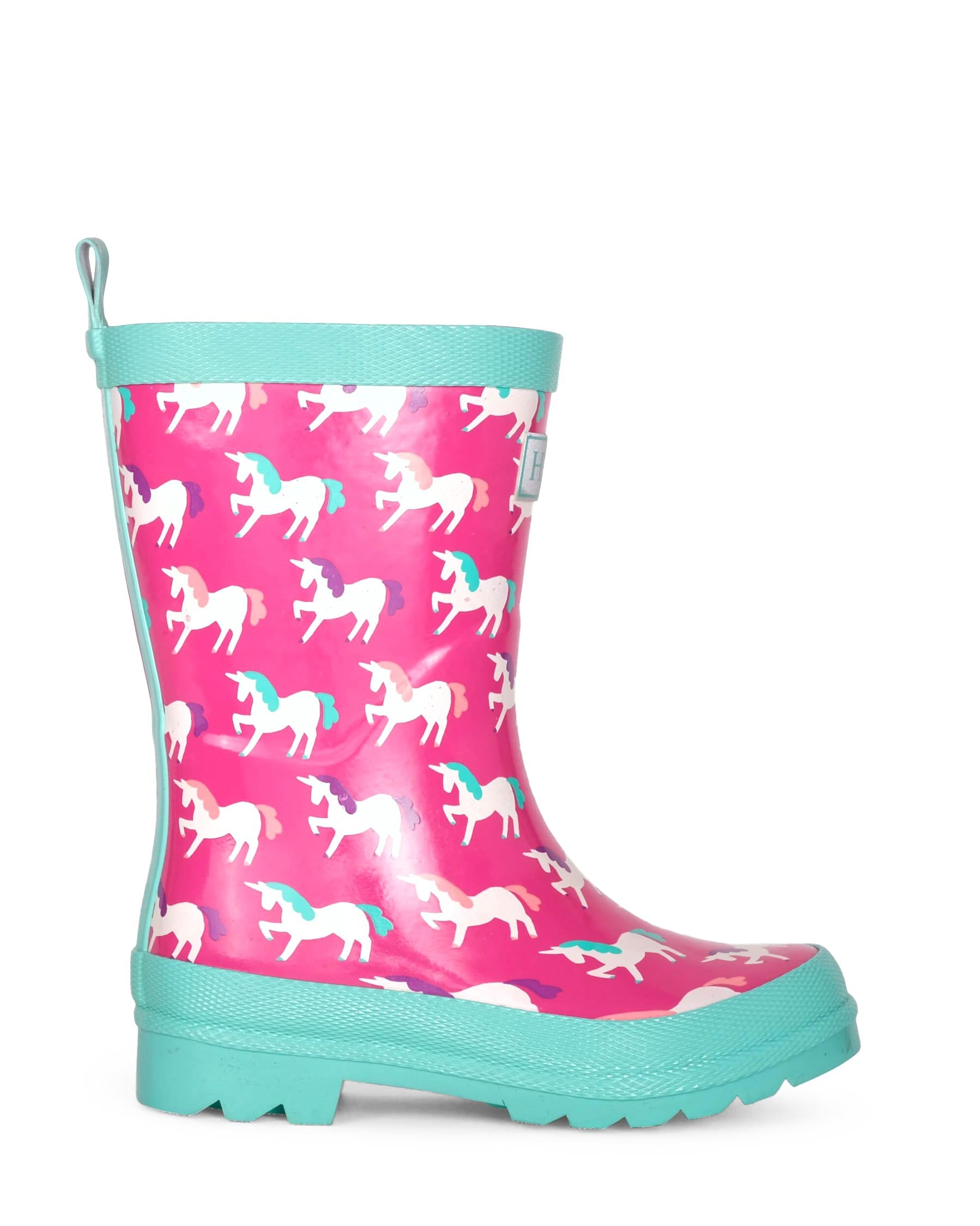 Mystic Unicorns Shiny Gumboots
