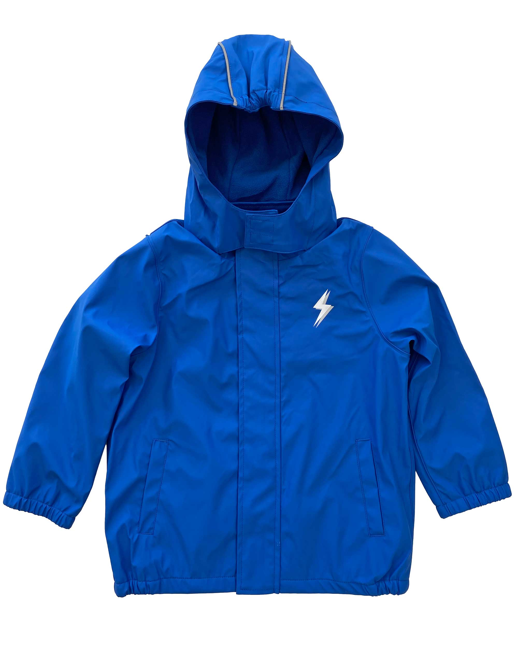 Splasher Blue Waterproof Raincoat