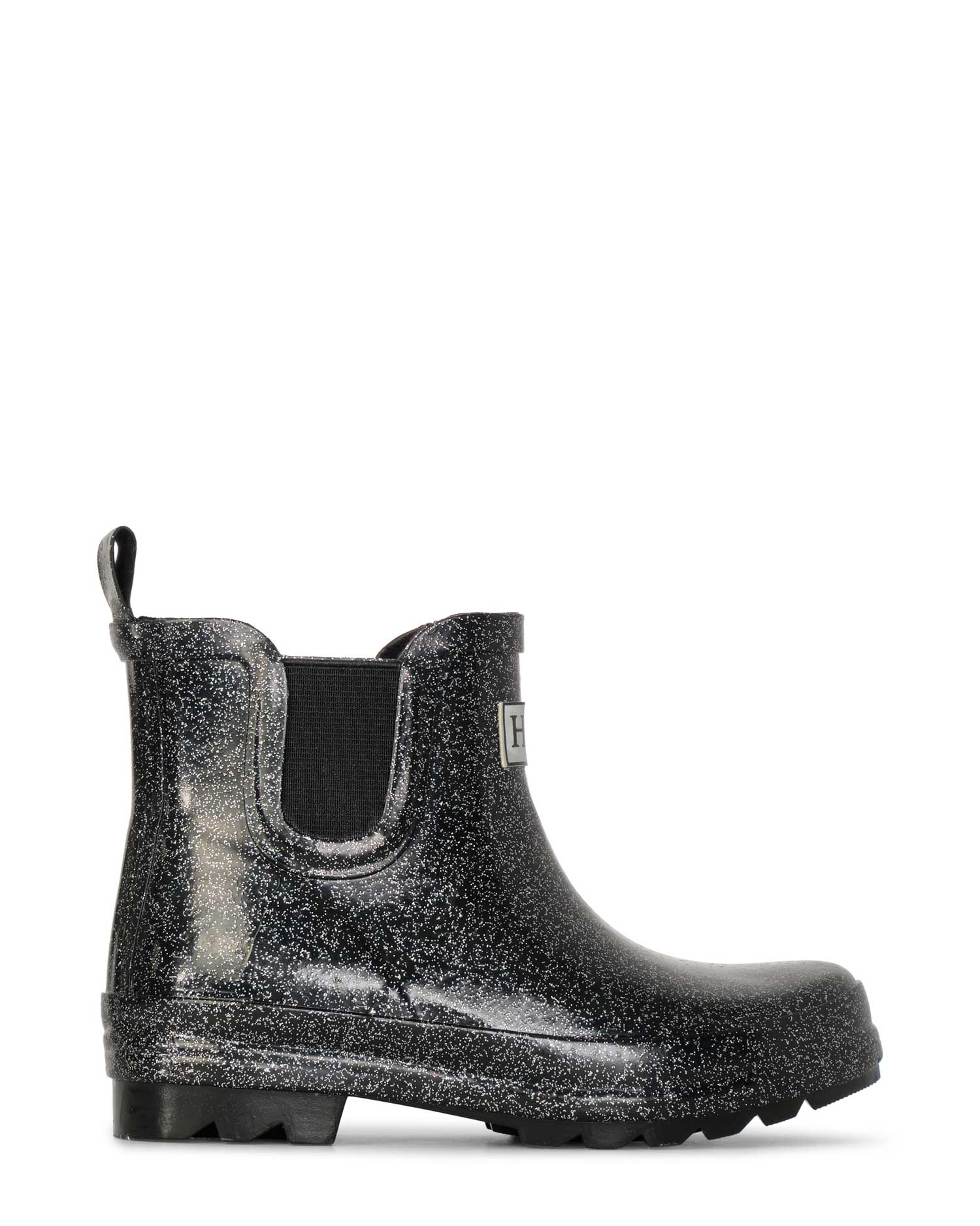 Starry Night Glitter Ankle Gumboots