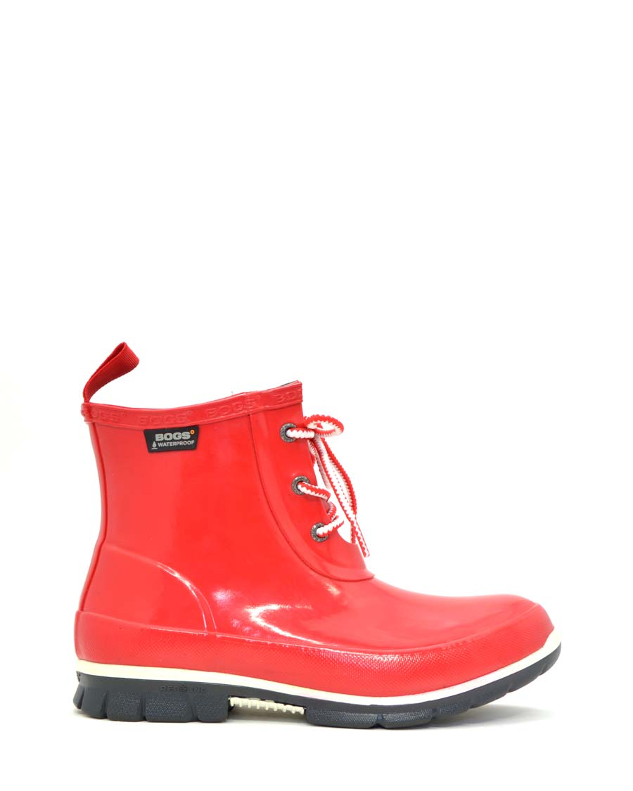 Amanda Chukka Rubber Boots Red