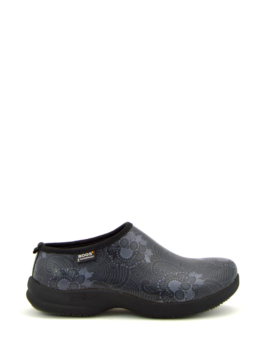 Oliver Batik Clogs Black