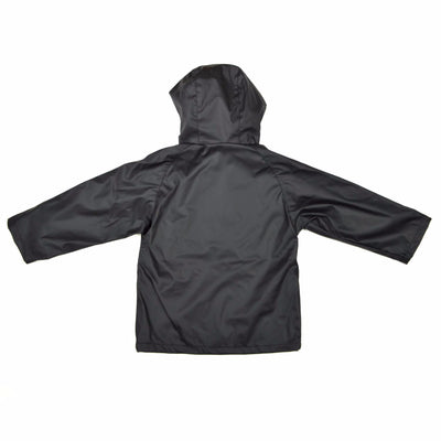 WelliesAU Black Rainy Days Raincoat