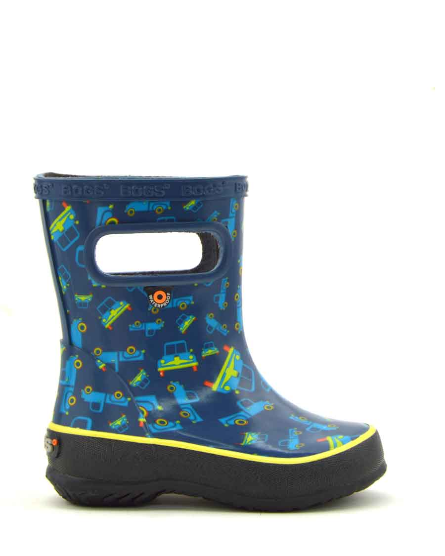 Skipper Truck Blue Boys Gumboots