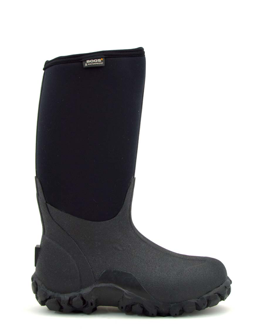 Bogs Classic High Black Gumboots