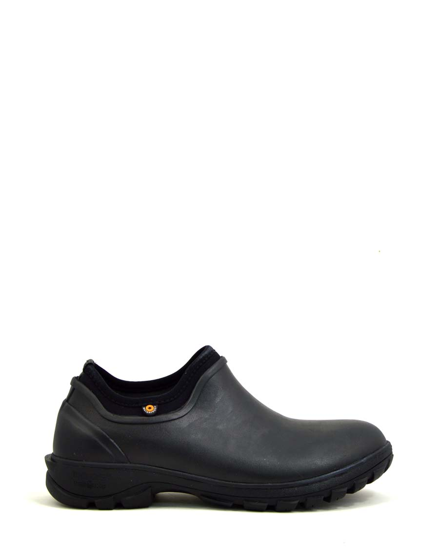 Sauvie Mens Slip-On Shoes Black