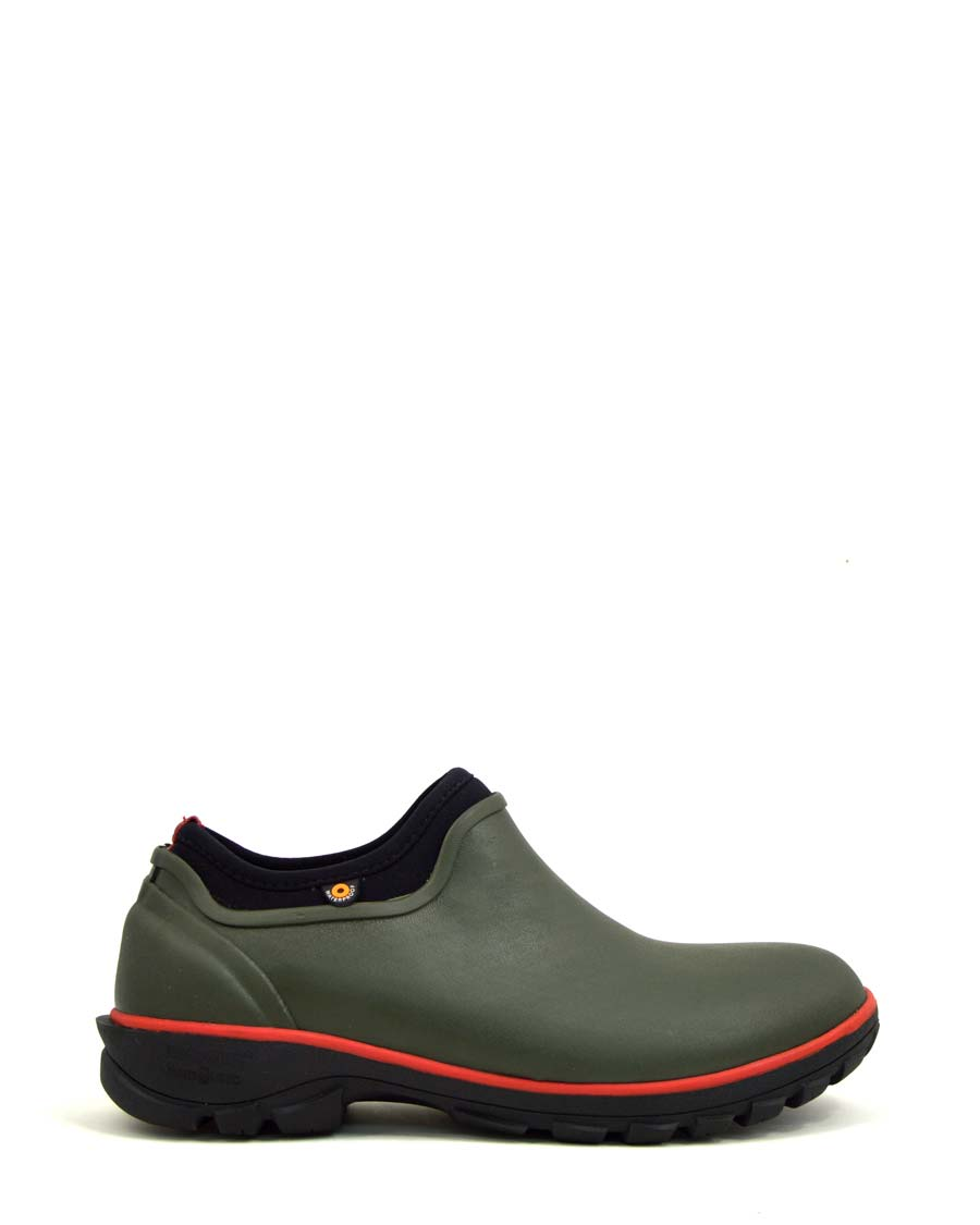 Sauvie Mens Slip-On Shoes Dark Green