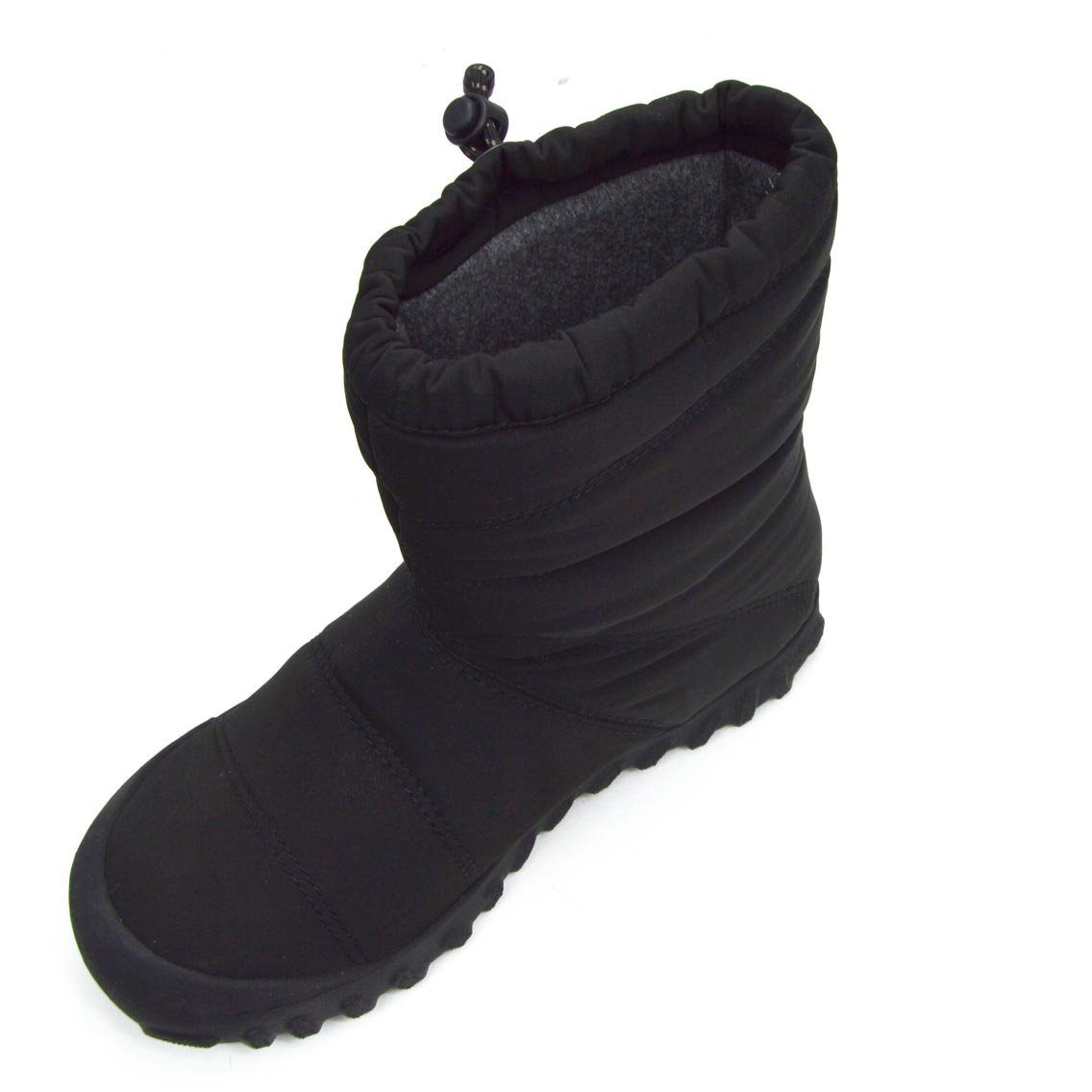 Puffy Mid Black Insulated Boots