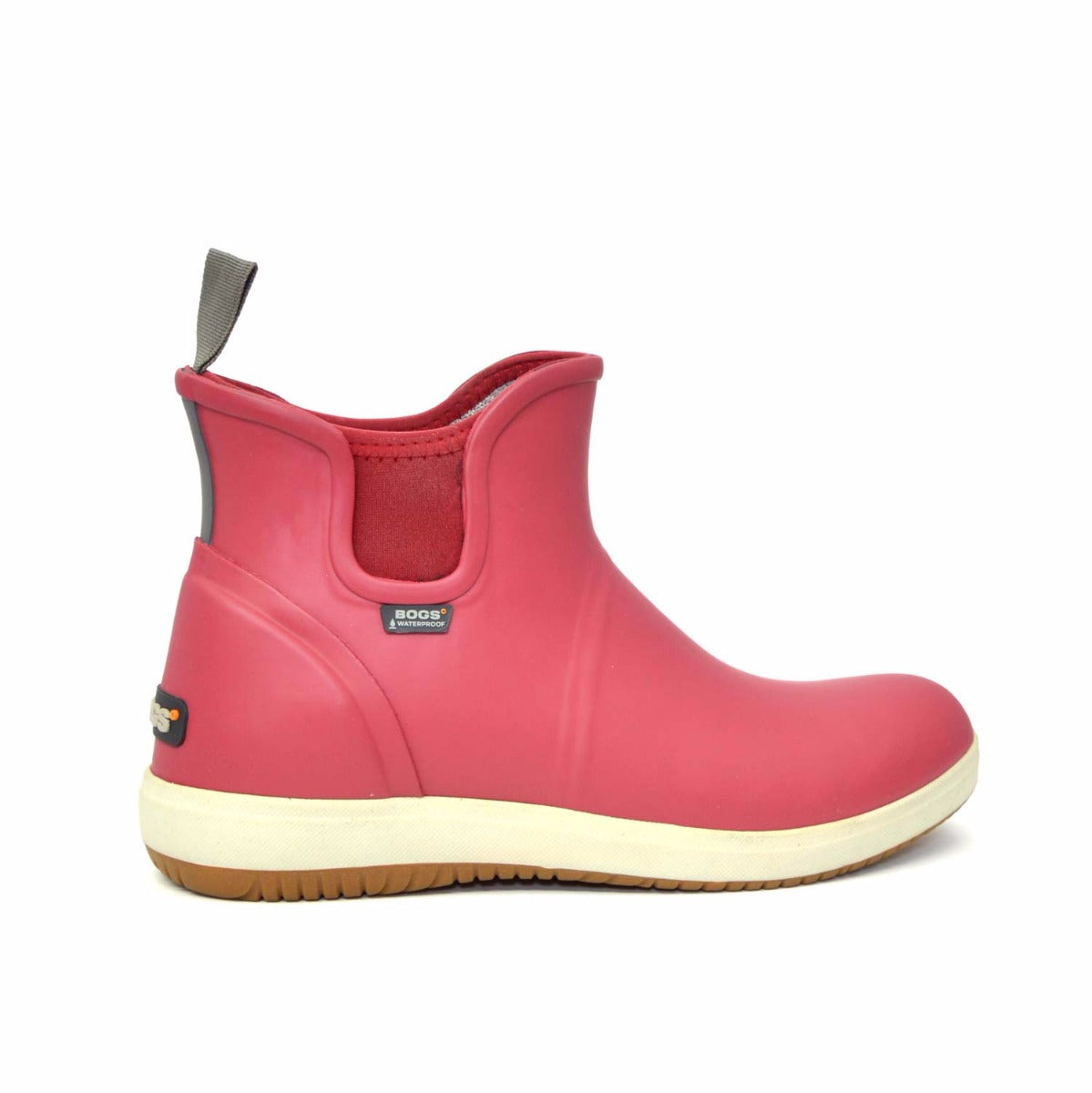 Quinn Slip-On Boots Ruby