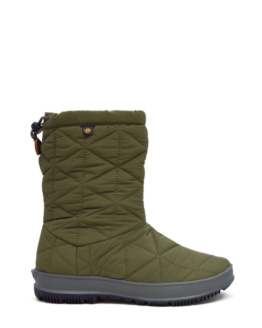 Snowday Mid Winter Boots Dark Green