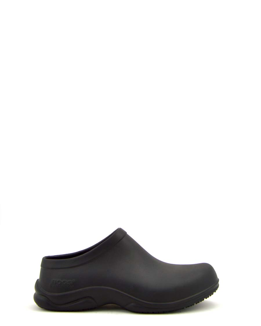 Stewart Mens Black Clog