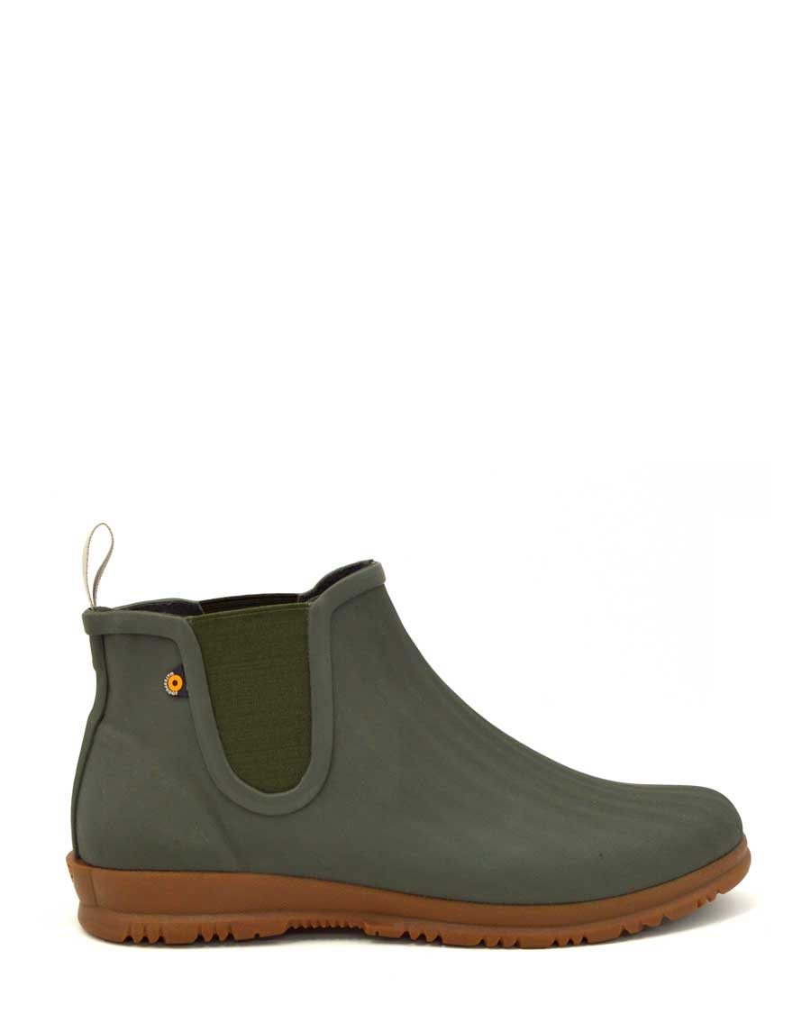 Sweetpea Chelsea Ankle Boots Sage Green