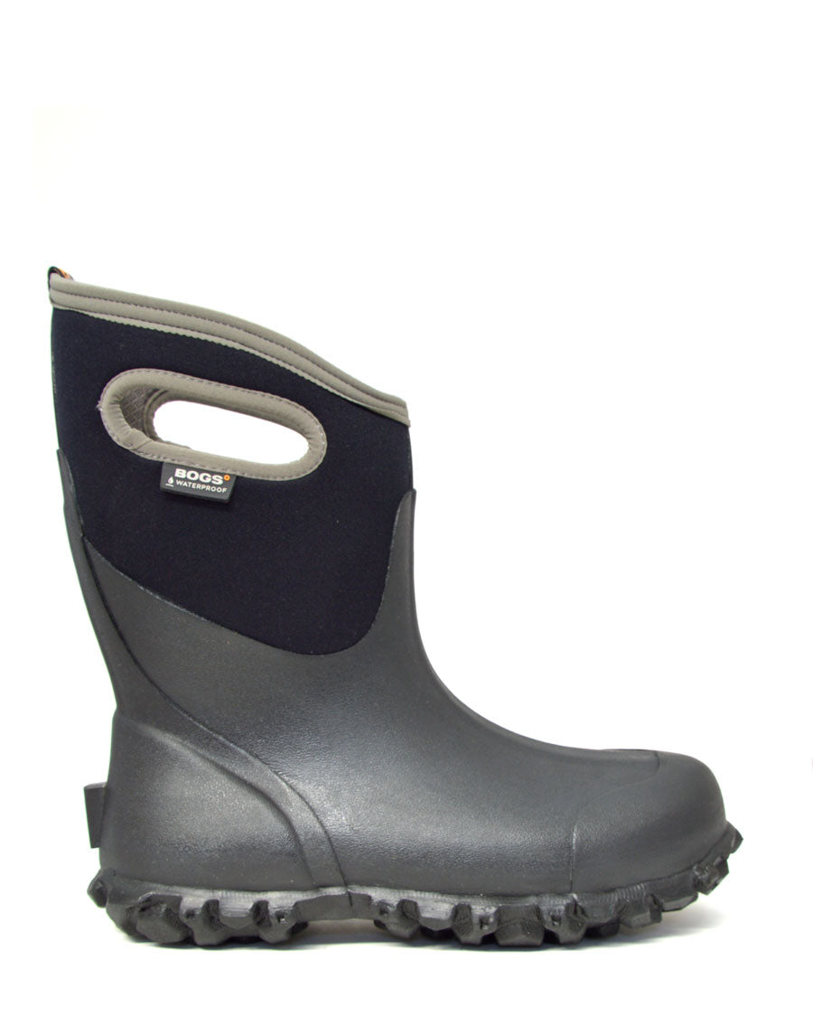 Bogs Ultra Mid Farm Gumboots Black