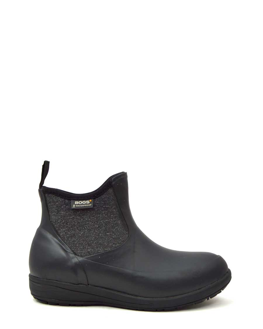 Cami Low Black Wellies