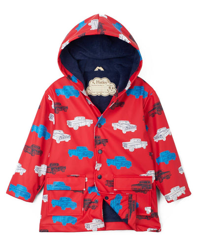 Classic Pickup Trucks Raincoat