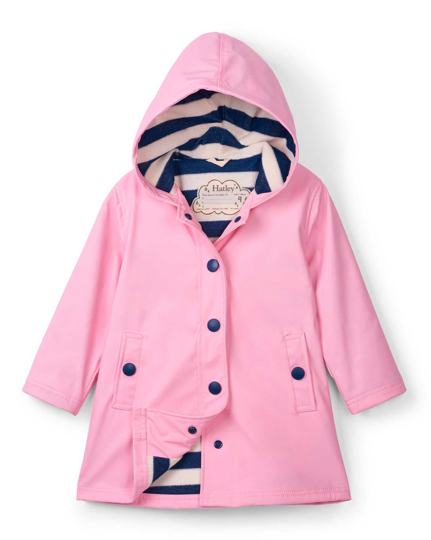 Classic Pink & Navy Splash Jacket
