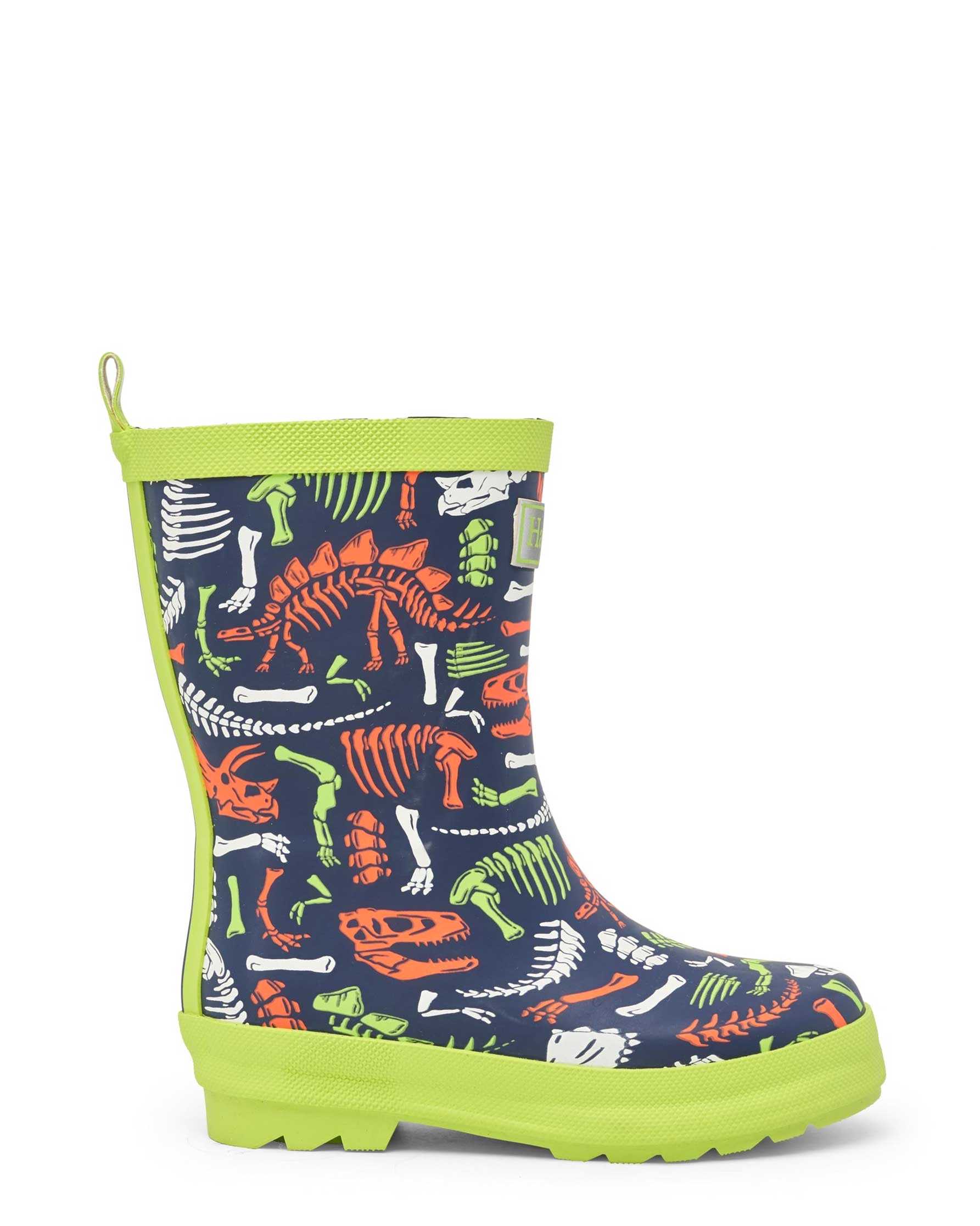 Dino Fossils Matte Gumboots
