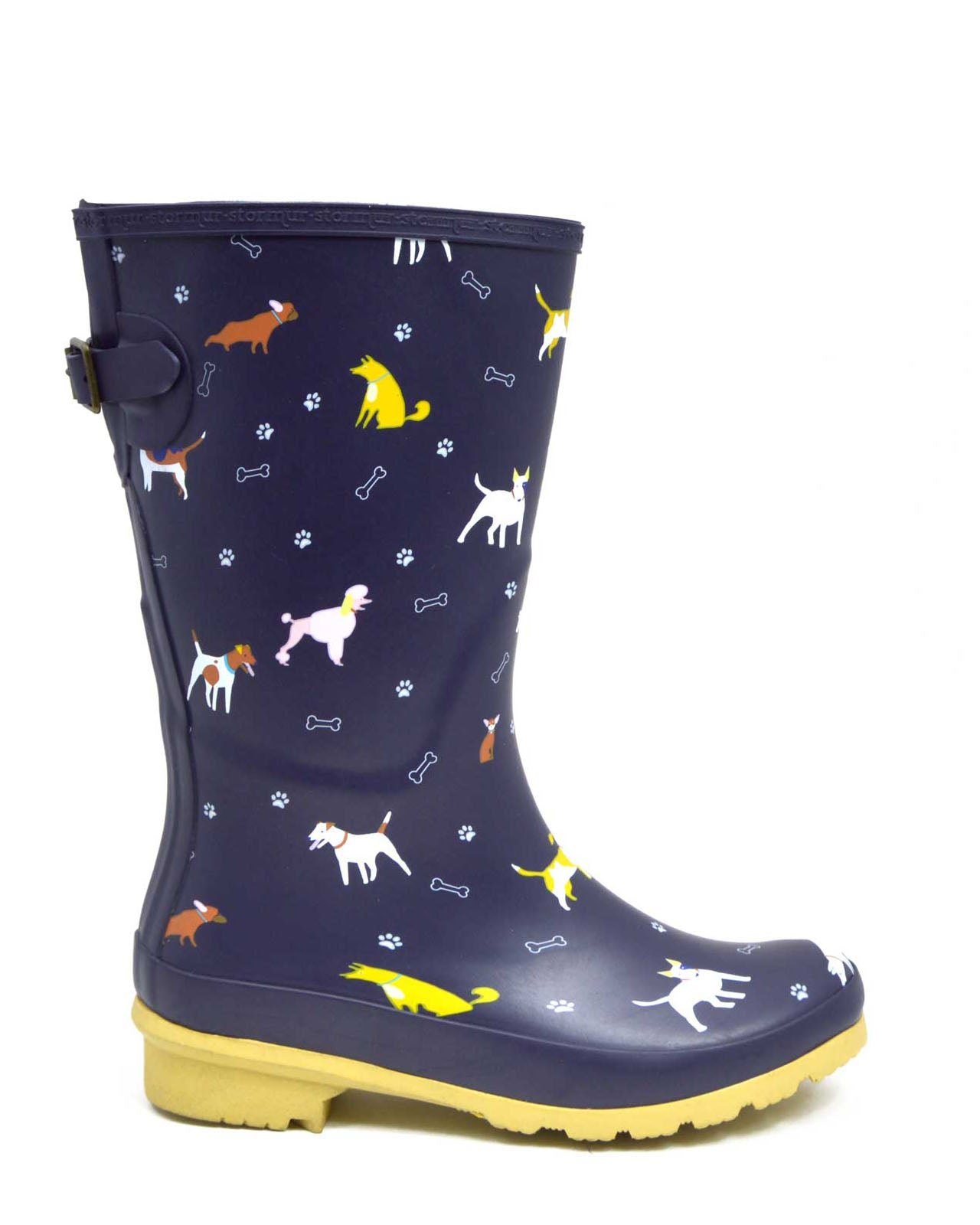 Dog Lovers Mid Gumboots
