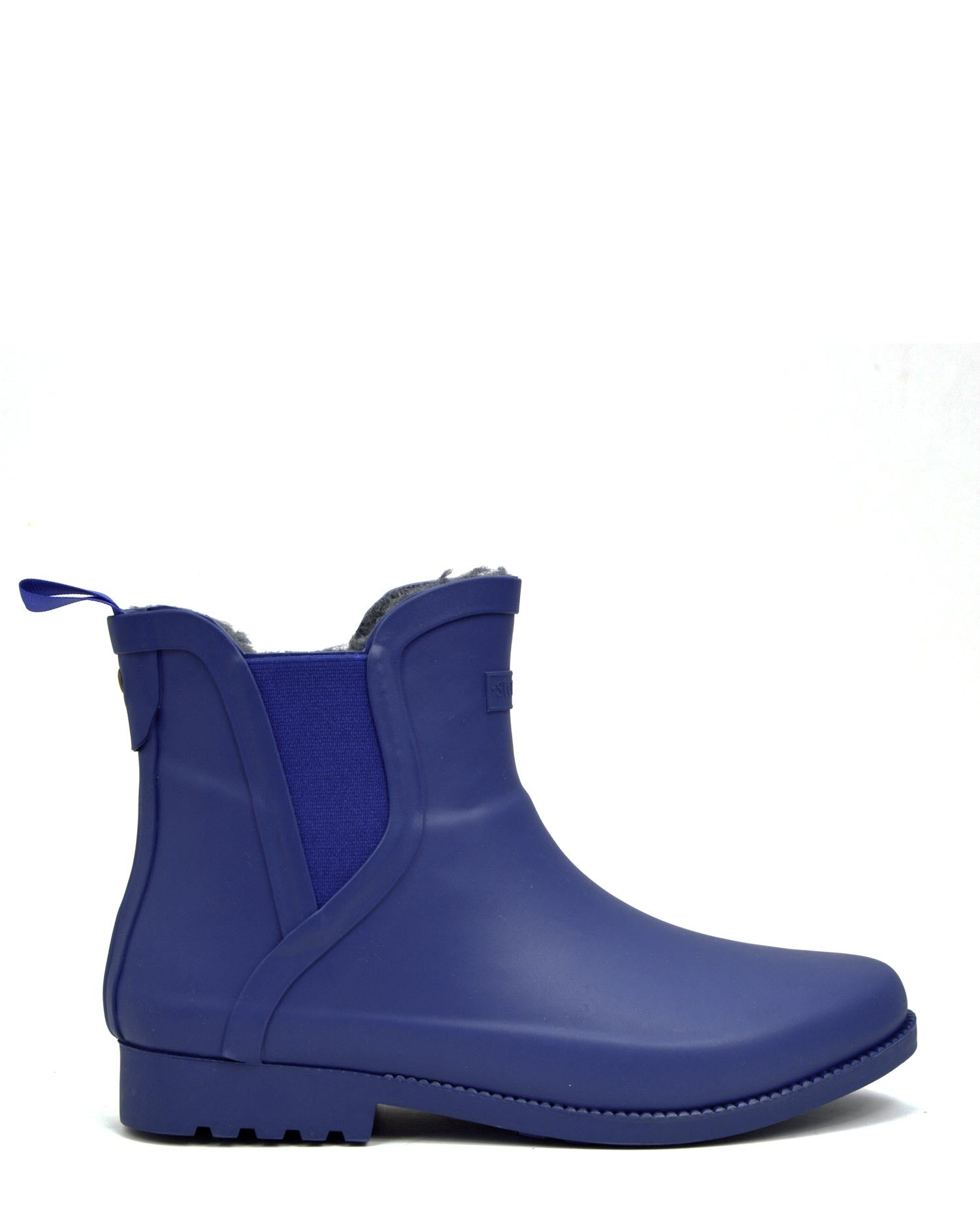 Original Fleeced II Blue Ankle Gumboots