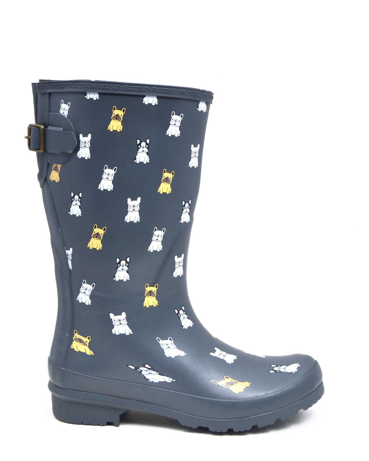 French Bullies Mid Gumboots