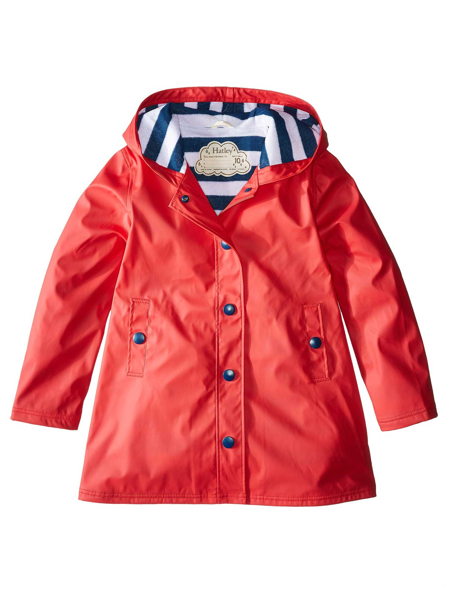 Red & Navy Splash Jacket