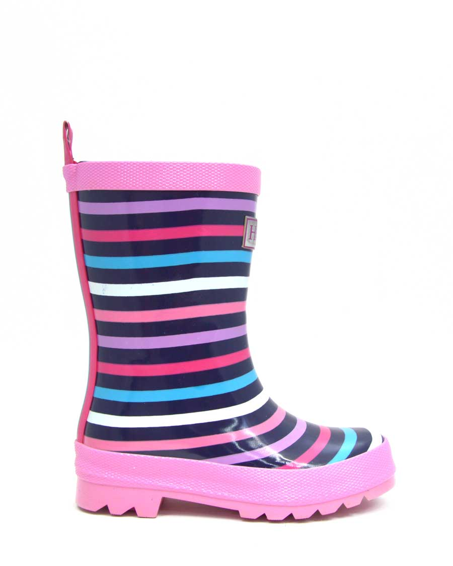 Colourful Stripes Gumboots