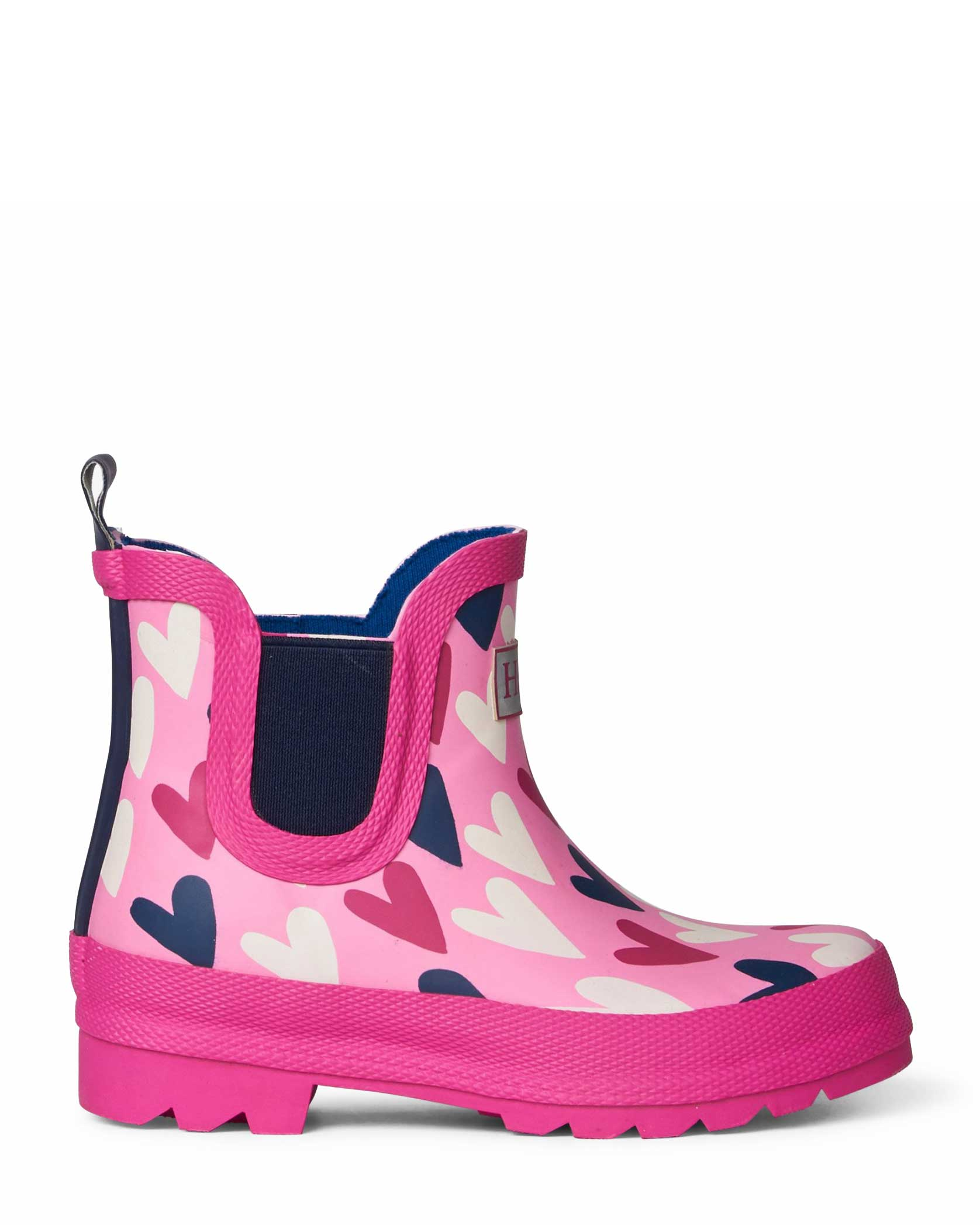 Lovely Hearts Ankle Bootie Gumboots