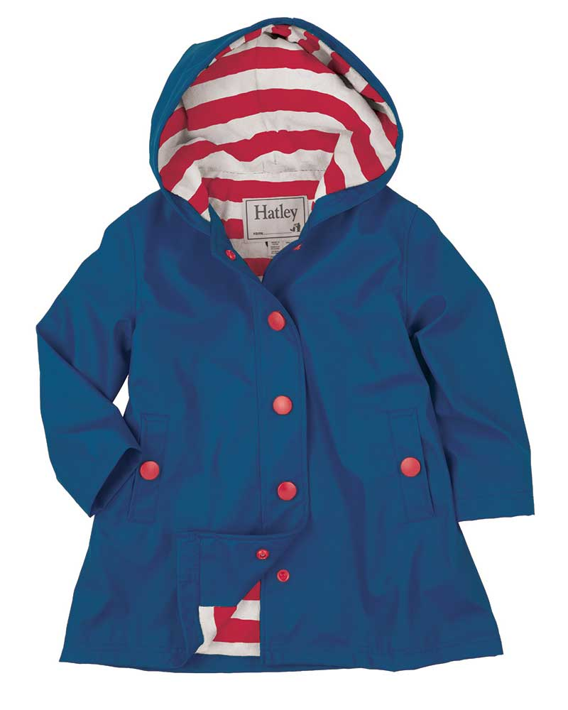 Hatley Girls Navy Splash Jacket