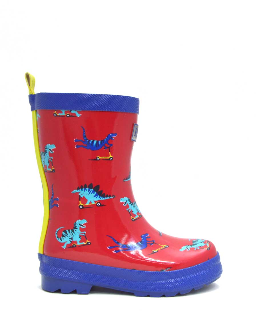 Scooting Dinos Gumboots
