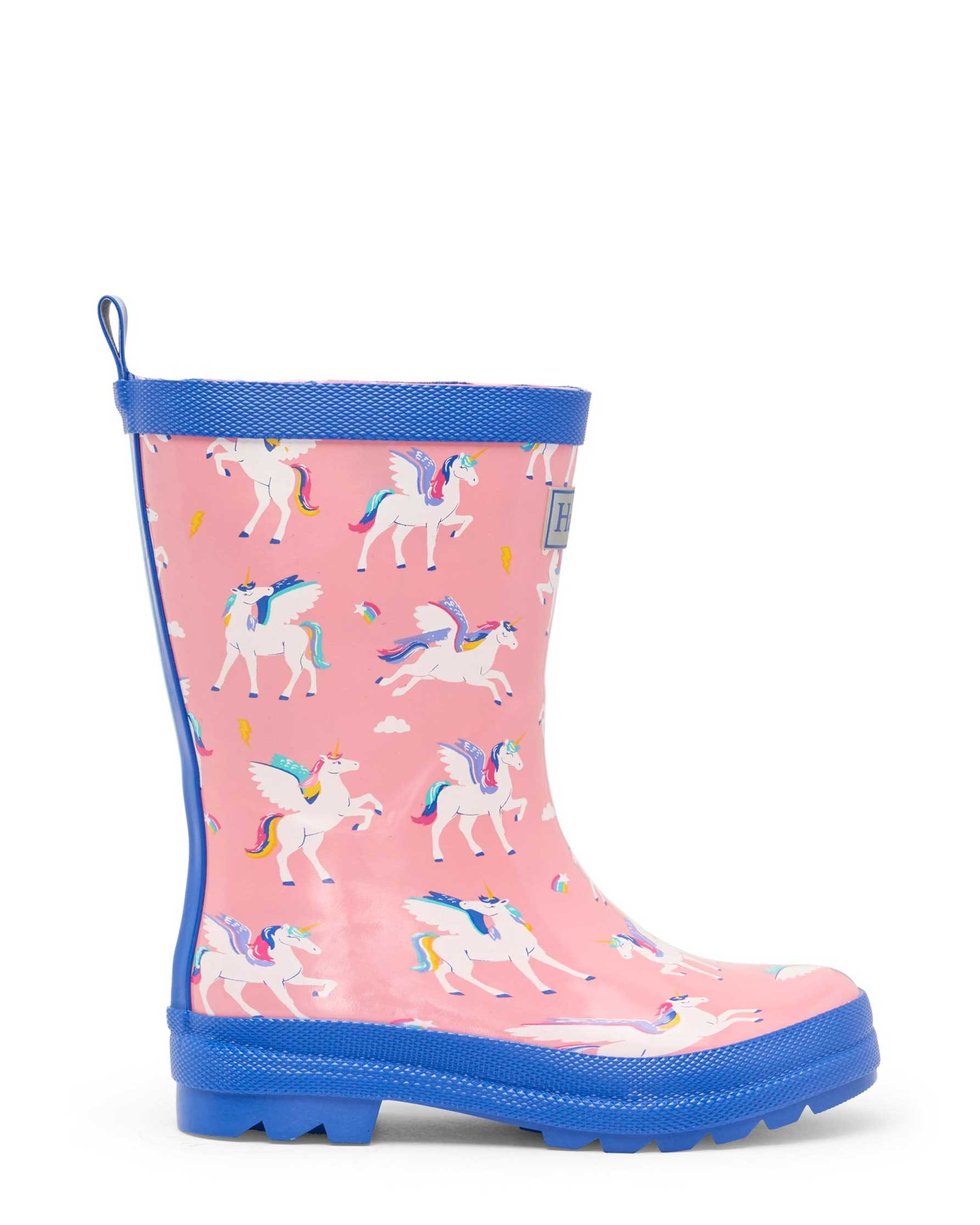 Magical Pegasus Shiny Gumboots