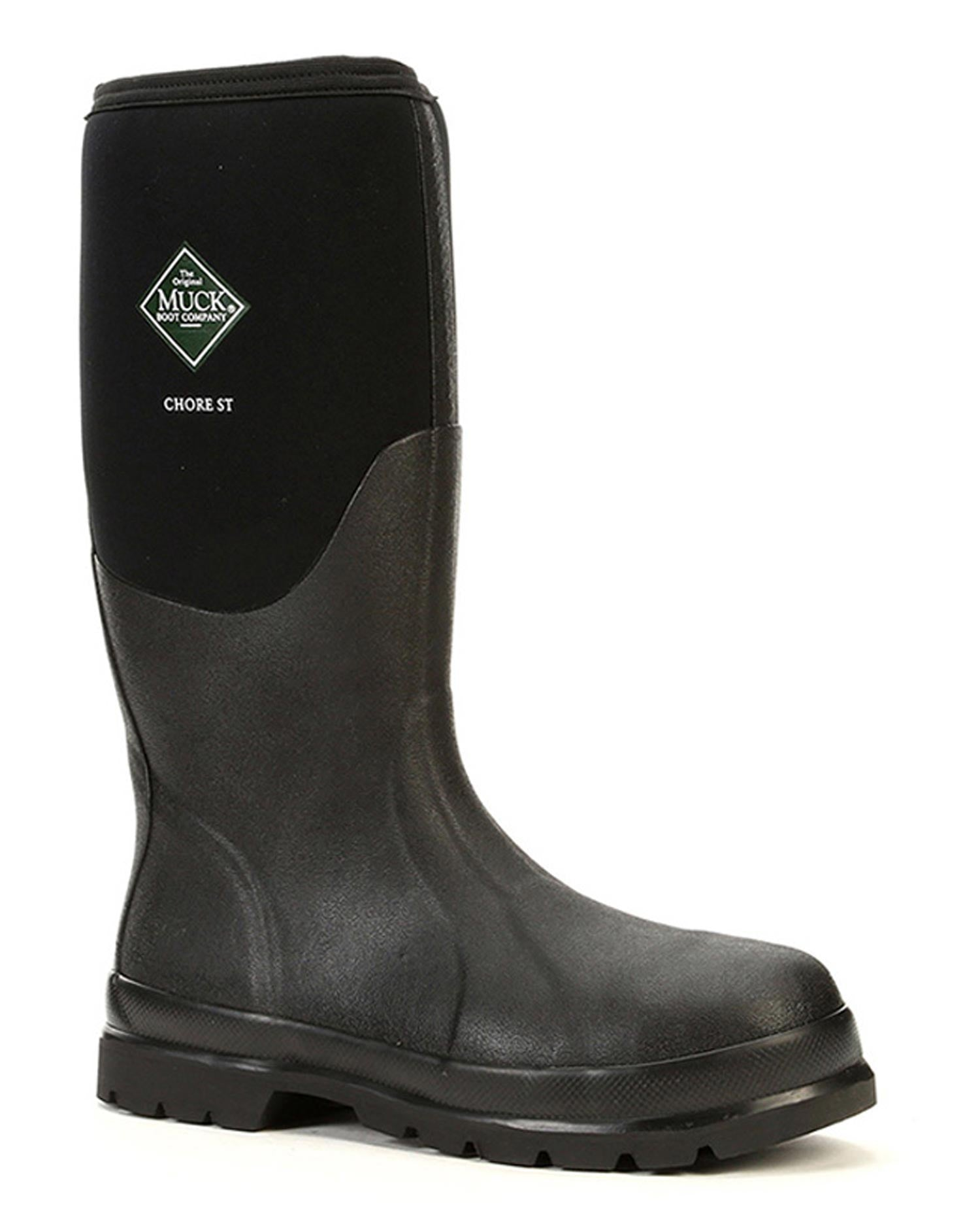 Chore Classic Tall Steel Toe Rubber Work Boots