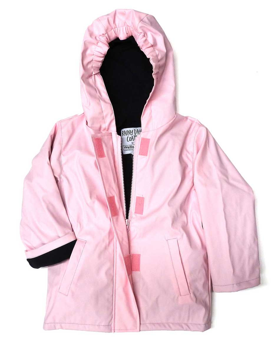 WelliesAU Pink Rainy Days Raincoat