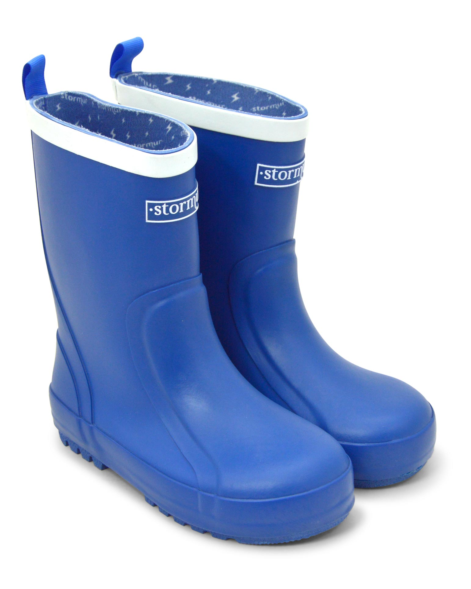 Splasher Blue Kids Gumboots