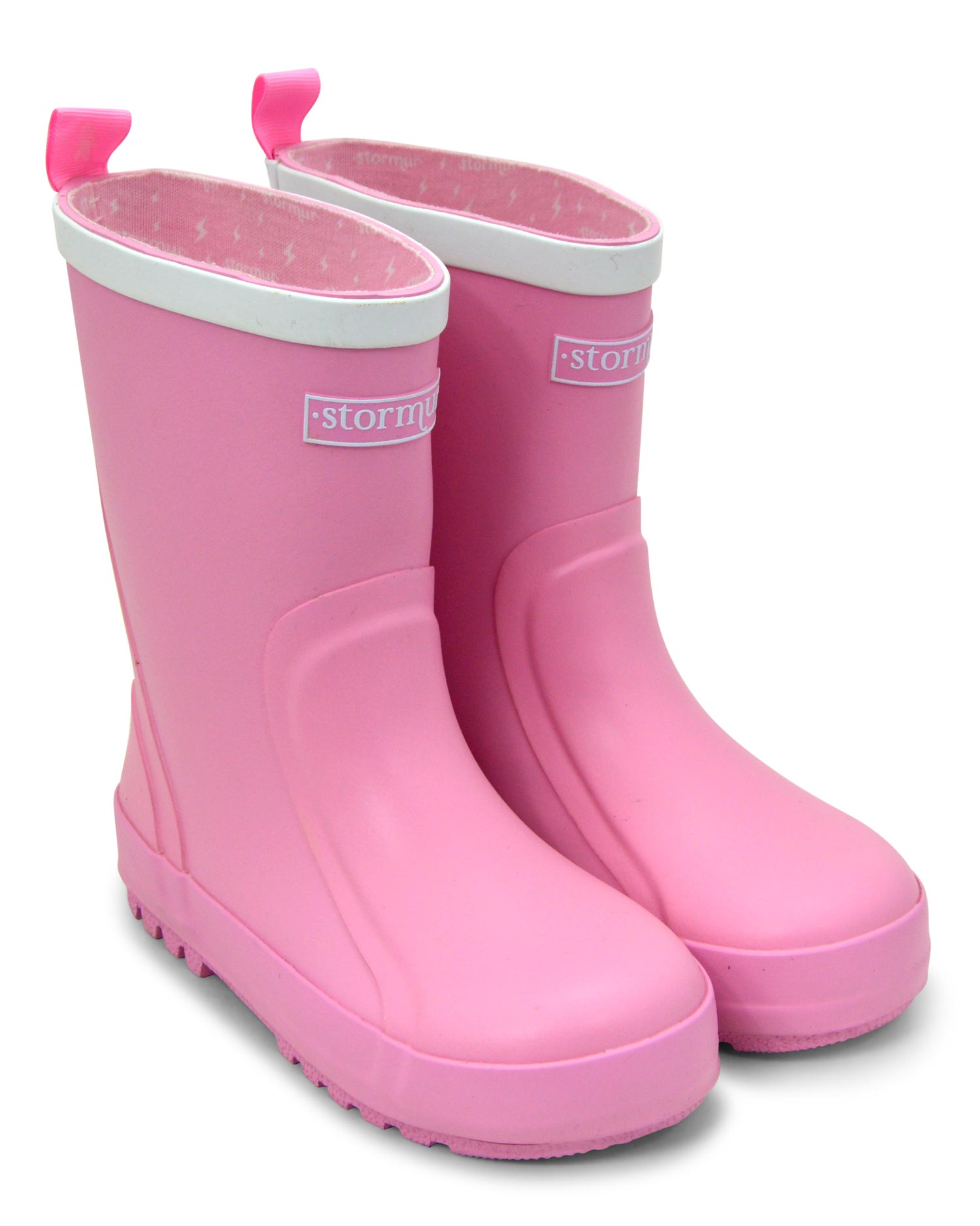 Splasher Pink Kids Gumboots