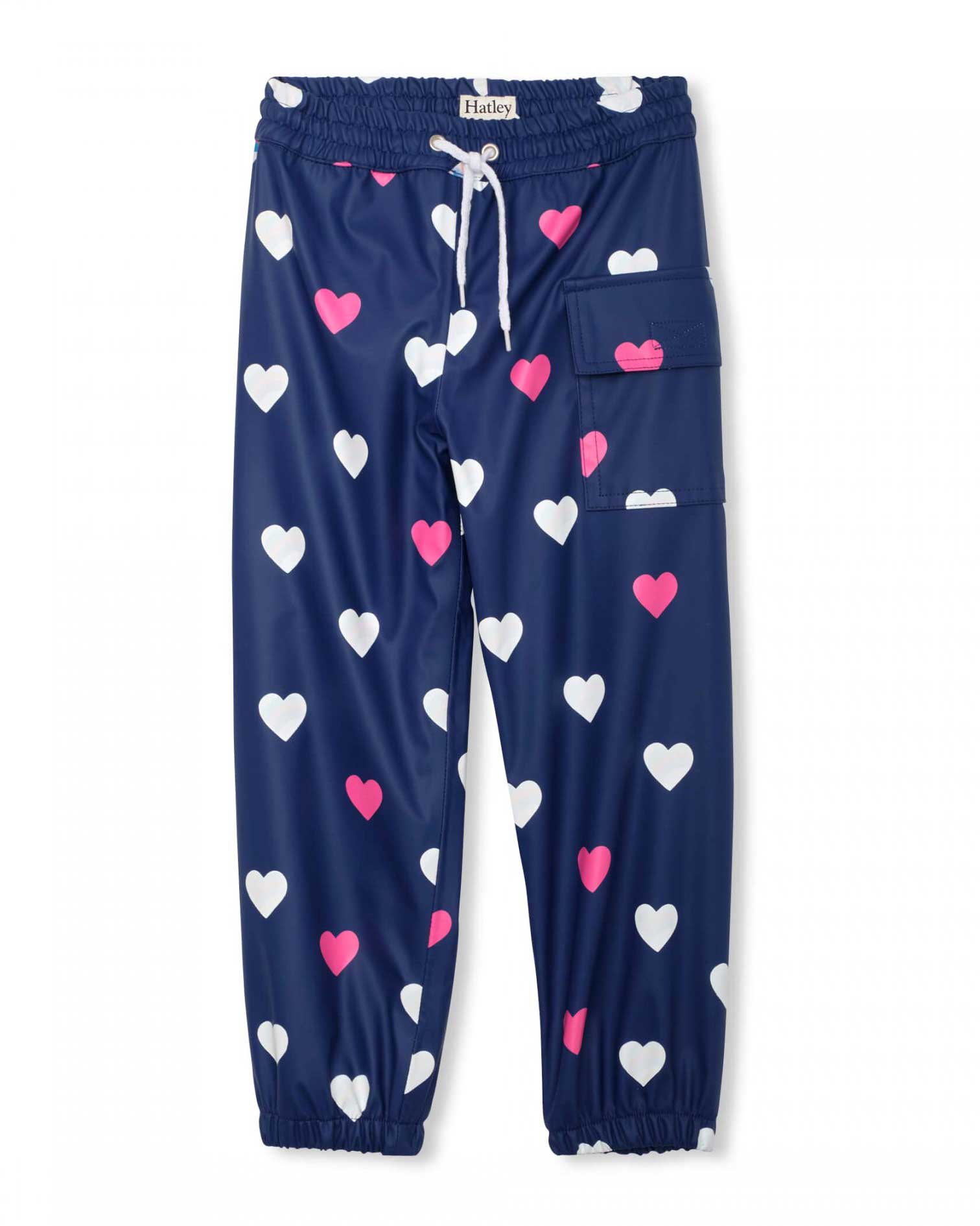 Striped Hearts Changing Colour Splash Pants
