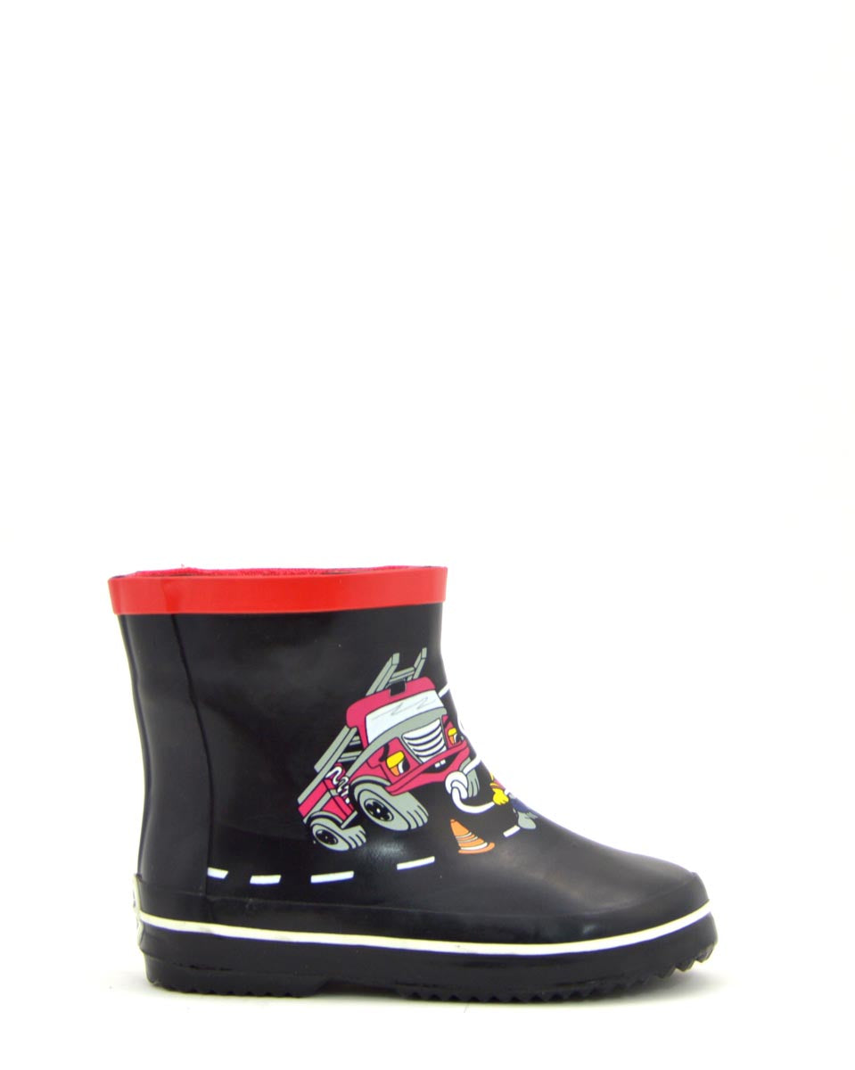 Wellies Fireman Gumboots - size 3 up